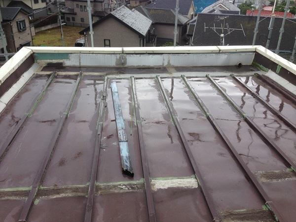 伊勢原市 K様邸 雨漏り修理工事 (1)