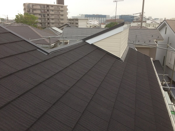 茅ヶ崎市 S様邸 屋根葺き替え&外壁塗装工事 (8)