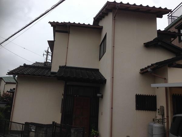 厚木市三田南 S様邸 塗装、戸袋改修、雨樋交換工事 (1)