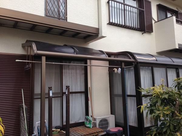 アクリル屋根改修工事 (1)