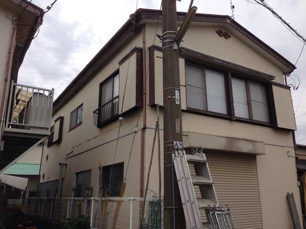相模原市 S様邸 屋根重ね葺き&外壁塗装工事 (1)