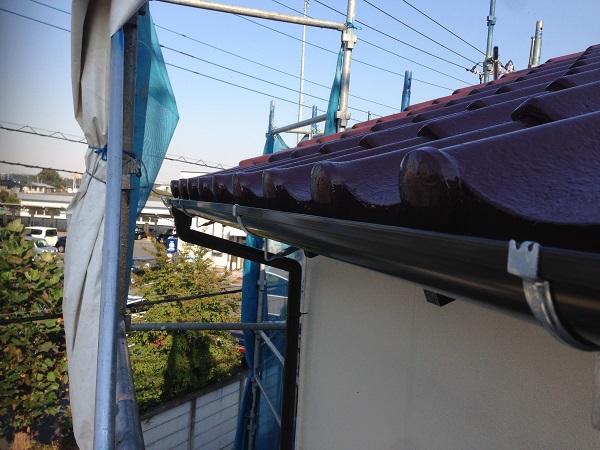 厚木市三田南 S様邸 塗装、戸袋改修、雨樋交換工事 (3)
