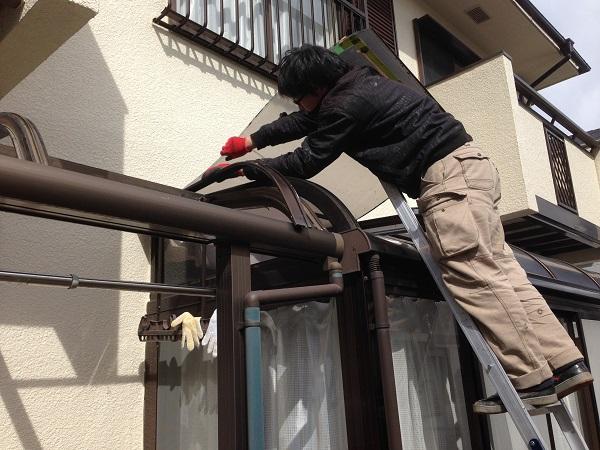 アクリル屋根改修工事 (3)