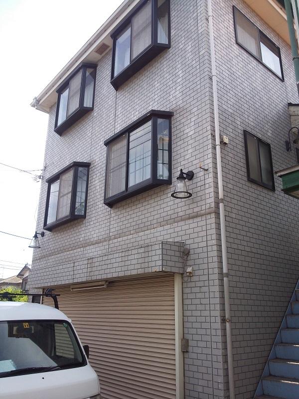 厚木市三田 T様邸 外壁張り替え工事 (1)
