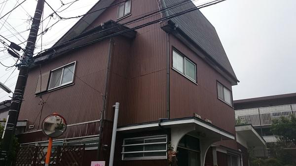 綾瀬市 A様邸 樹脂サイディング上張り工事 (1)