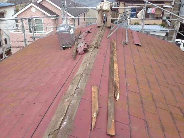 相模原市 S様邸 屋根重ね葺き&外壁塗装工事 (3)