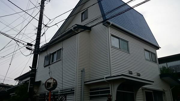 綾瀬市 A様邸 樹脂サイディング上張り工事 (2)