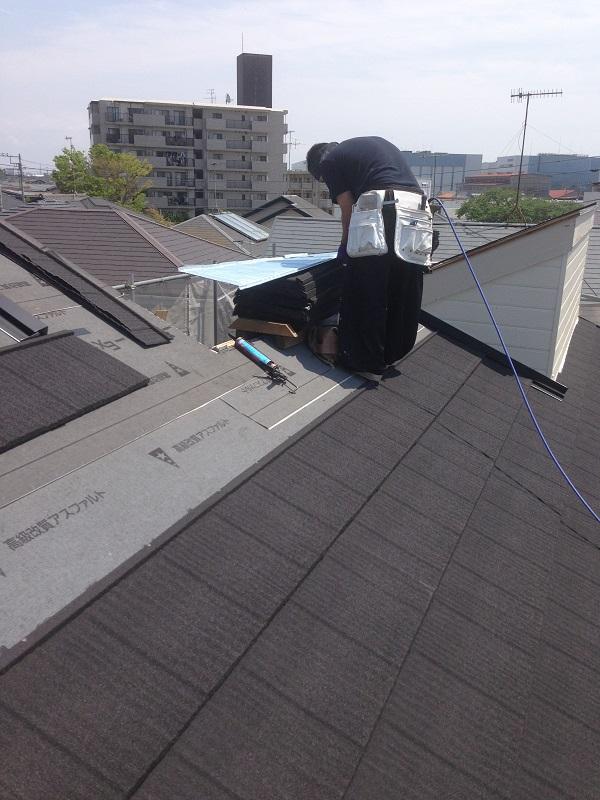 茅ヶ崎市 S様邸 屋根葺き替え&外壁塗装工事 (7)
