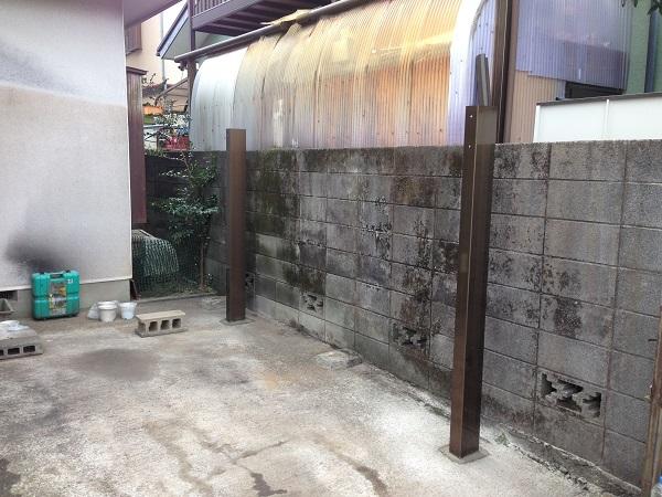 厚木市 O様邸 カーポート工事 (3)