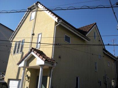 厚木市 N様邸 外壁、屋根塗装工事 (1)