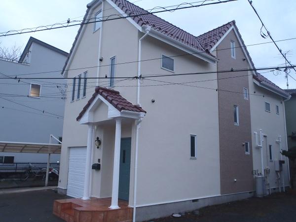 厚木市 N様邸 外壁、屋根塗装工事 (2)